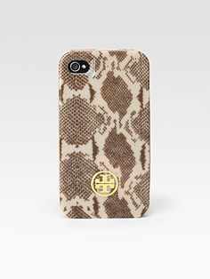 Tory Burch - Snake Print Hardshell iPhone Case