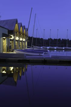 Blue Hour Photography of the Wellesley College Boathouse