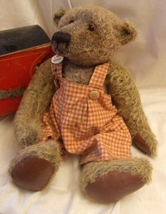 Hand made by Victoria & Chad Bragg~ BraggAbout Bears