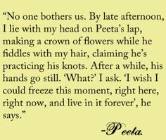 Peeta is the only reason the Hunger Games isn't depressing. He's the hope in it; the books would be madly depressing without the idea that good people (Peeta) can survive and even thrive in a world even more depraved than ours now (Panem. Hunger Games Fandom, Hunger Games Catching Fire, Hunger Games Trilogy, Divergent Trilogy, Katniss And Peeta, Katniss Everdeen, I Volunteer As Tribute, Jenifer Lawrence, Film Serie