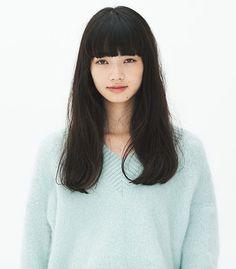 Nana Komatsu is Honey's face claim Long Hair With Bangs, Long Black Hair, Nana Komatsu Fashion, Asian Models Female, Komatsu Nana, Aesthetic People, Japan Girl, Japanese Beauty, Girl Blog