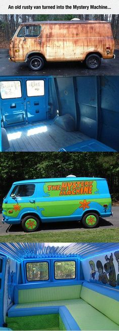 Funniest Memes - [An Old Rusty Van Turned Into The Mystery...]