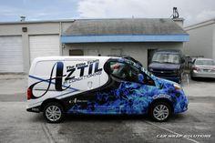 Vehicle Signage, Commercial Van, Best Wraps, Van Wrap, Small Trucks, Sprinter Van, Car Painting, Car Stickers, Nissan