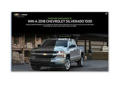 Exercise equipment sweepstakes 2018 chevy