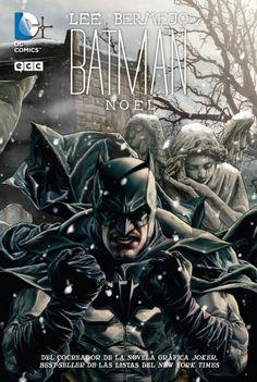 Batman Noel cover by Lee Bermejo