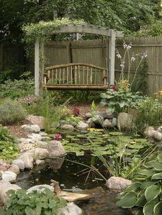 Garden pond retreat (1) From: Houzz, please visit