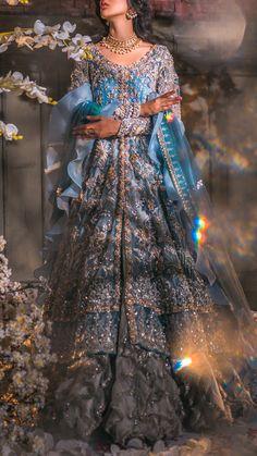 Asian Wedding Dress Pakistani, Pakistani Dresses Casual, Indian Bridal Outfits, Indian Fashion Dresses, Indian Bridal Wear, Pakistani Wedding Dresses, Pakistani Dress Design, Nikkah Dress, Wedding Lehenga Designs
