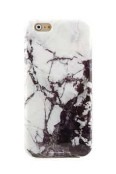 Protective black and white marble phone case for an elegant look. Full Protection:Comes with full 360 degree bumper protection with access to all ports as well as a front raised lip to protect your phone screen. High Quality:Made with the best TPU material resulting in a soft, durable, and flexible finish for your phone. Custom Design:A one of a kind design crafted by our artists in NYC then layered on top of high grade matte TPU material.   Marble Iphone6 Case by Velvet Caviar. Accessories…