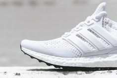 adidas Ultra Boost White/White Available Now
