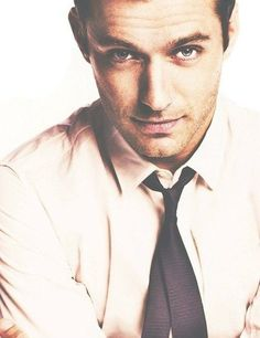 JUDE LAW I don't typically have celebrity crushes. But I can't lie... I swoon at the sound of this guys voice. And his looks don't hurt either
