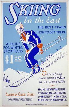 Free Vintage Printable Posters, Retro Artwork, Vintage Print Download: sports