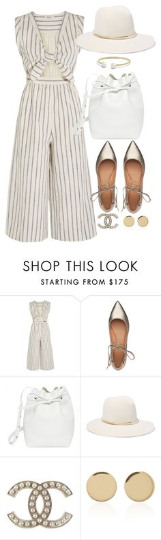 """Untitled #3023"" by theaverageauburn on Polyvore featuring Madewell, Sigerson Morrison, Mansur Gavriel, Janessa Leone, Magdalena Frackowiak and David Yurman"