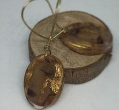 aros de resina. encapsulado  resin jewellery  bronze hook Magenta, Pocket Watch, Pendant Necklace, Photo And Video, Watches, Accessories, Jewelry, Instagram, Resin