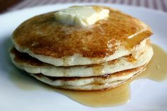 egg free pancakes :) I think I have craved pancakes the most since my son was diagnosed with an egg allergy.. so happy to find this recipe!