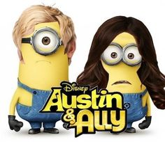 Austin and ally dispicable me style in minions