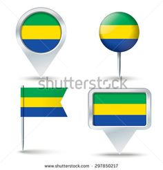 Find Map Pins Flag Gabon Vector Illustration stock images in HD and millions of other royalty-free stock photos, illustrations and vectors in the Shutterstock collection. Map Vector, Royalty Free Stock Photos, Flag, Logos, Illustration, Illustrations, Science, Flags, Logo