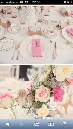 Love the colours and table setting