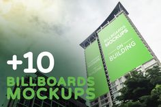 """Check out my @Behance project: """"Billboards Mockups on Building"""" https://www.behance.net/gallery/44965997/Billboards-Mockups-on-Building"""