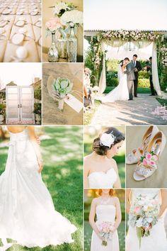 Inspirational Wedding Ideas #217: Vintage California Wedding - http://www.diyweddingsmag.com/inspirational-wedding-ideas-217-vintage-california-wedding/