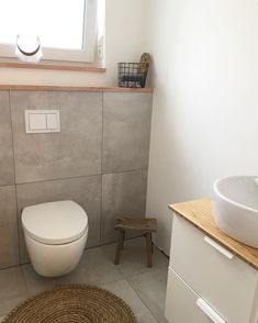 Likes, 55 Kommentare - @ on Instagra . - above couch - Badezimmer Mirror Above Couch, Tall Wall Mirrors, Tuscan Wall Decor, Wc Decoration, Tile Stairs, Guest Toilet, Clockroom Toilet, Grey Tiles, Beautiful Bathrooms