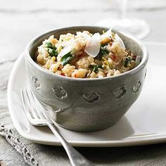 Creamy and wholesome, this so-simple risotto skips stirring in favor of slow cooking.