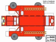 Free Printable Fire Trucks.