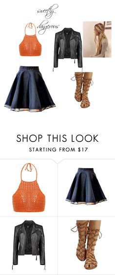 """""""Sweetly dangerous"""" by marebear-737 ❤ liked on Polyvore featuring Spiritual Hippie and Boohoo"""