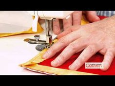 Patrick Lose shows how to get perfectly mitered and bulk-free corners on your quilts in this video tutorial.