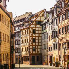 Die Altstadt von Nürnberg wurde nach dem zweiten Weltkrieg fast komplett neu gebaut.