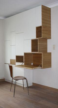 Ideas Modular Furniture Design Storage Interiors For 2019 Modular Furniture, Home Furniture, Furniture Design, Furniture Storage, Deco Design, Wood Design, Modern Bookcase, Minimalist Home, Interior Inspiration