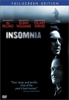 Before Christopher Nolan made his name with the latest Batman trilogy, he directed Insomnia starring Al Pacino. Have you seen it?