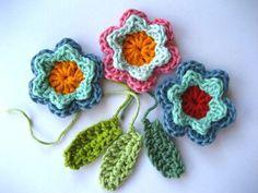 Spring Fever Easy Crochet Flowers