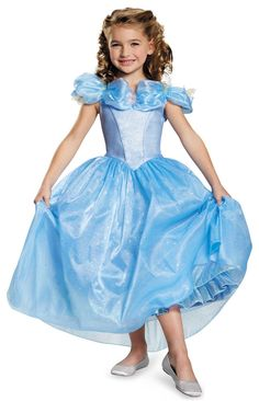 Disney Cinderella Movie: Prestige Toddler Cinderella Costume from CostumeExpress.com