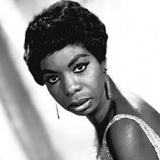 """Nina Simone known since the late as the """"High Priestess of Soul"""", her music covered gospel to jazz to pop to R and blues to a raging black protest that moved her off the supper-club circuit and into political rallies and soul concerts. 50s Music, El Rock And Roll, Nina Simone, Jazz Musicians, Jazz Blues, Music Covers, Gospel Music, Timeless Beauty, Music Artists"""