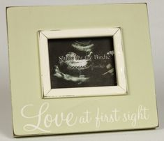 Love at First Sight Beige Sonogram Picture Frame These frames make great gifts and even better kids room decor! The most highly regarded picture frame designer in the children's industry, Smile for th Baby Girl Crib Bedding, Girl Nursery, Nursery Ideas, Girl Room, Baby Shower Gifts, Baby Gifts, Fun Gifts, Xmas Gifts, Ultrasound Frame