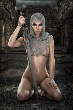 naked warriours female sexy