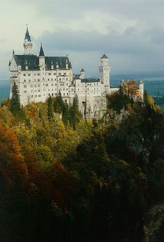 Neuschwannstein Castle in Germany