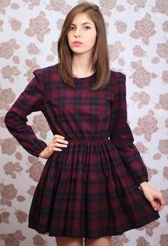 Cute Dress Xadrez ❤