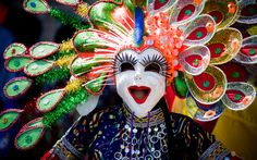 MassKara Festival, Philippines: On the third weekend of October, the city of Bacolod in the Philippines hosts the MassKara Festival—a carnival-style celebration that fills the streets.