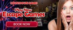 Youtube has a new trailer from #CountdownGames that will make you very excited on playing the newest and the biggest #escapegames room. #WorldsBiggestEscapeGames Shock And Awe, New Trailers, World's Biggest, Very Excited, Web Development, Games, Birthday, Party, Youtube