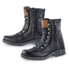 Spat Front Steampunk Boots | Pyramid Collection