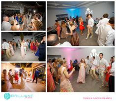 A big destination wedding at Gansevoort in Turks and Caicos with Brilliant Studios