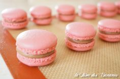 Macaron Thermomix, Macaron Recipe, Macarons, Ganache Chocolat Macaron, Low Carb Bread, Low Carb Breakfast, Low Carb Desserts, Nutella, Biscuits