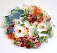 60 Incredible Examples of Paper Art — check these out - so delicate and beautiful!