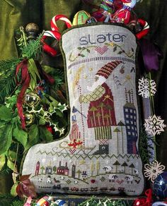 Slater's Stocking is the latest in the stocking collection by Shepherd's Bush!