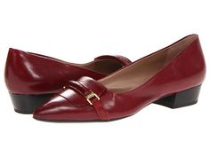 Franco Sarto Embrace Rose Red Leather - Zappos.com Free Shipping BOTH Ways