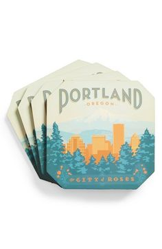 DENY Designs Coasters (Set of 4) available at #Nordstrom