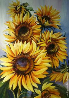 Enjoying The Journey:Cancer As A Lifestyle: Another Nesting Day Sunflower Pictures, Sunflower Art, Arte Floral, Painting & Drawing, Watercolor Paintings, Sunflowers And Daisies, Rose Leaves, Flower Images, Watercolor Flowers