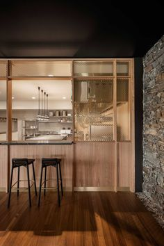 Located in Barossa Valley in South Australia, St Hugo's design brief to Studio-Gram called for the ultimate high-end wine experience.