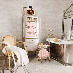 Ultra Glamorous Bathrooms - Elegant Bathrooms - Harper's BAZAAR